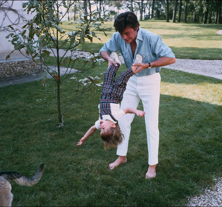 Alain Delon and his SUN