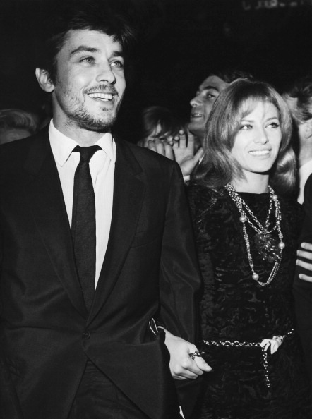 With Nathalie, 1967.